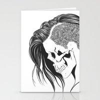 Skull Girls 2 - Royal Gold Stationery Cards