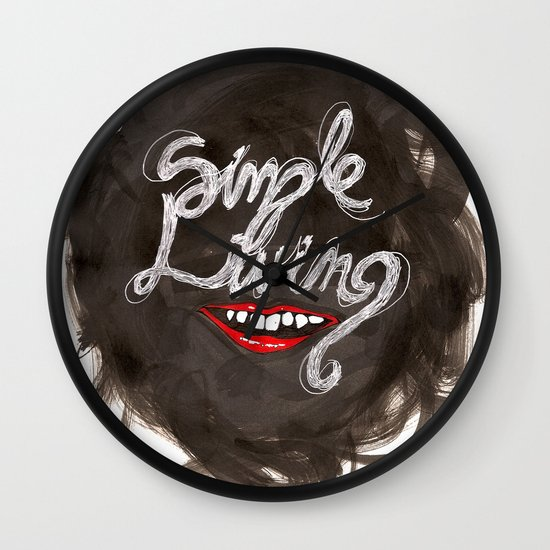 Simple Living Wall Clock