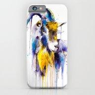 iPhone & iPod Case featuring Goat  by Slaveika Aladjova