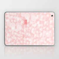 Beauty is not in the face; beauty is a light in the heart. Laptop & iPad Skin