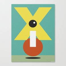 XCLAMATION POINT Canvas Print