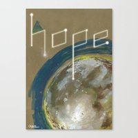 {Hope}  don't far away Canvas Print