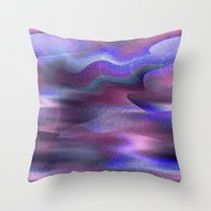 Waves Of Abstraction (or… Throw Pillow