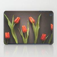 Orange Tulips iPad Case