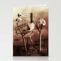 Ladder to the Sky Stationery Cards