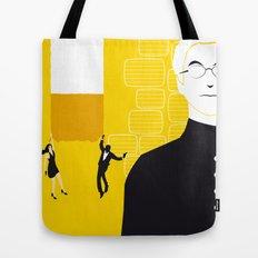 Tmorrow Never Dies Tote Bag