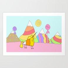 Candycorn Art Print