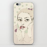 lipstick iPhone & iPod Skin