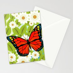 Red butterfly Stationery Cards