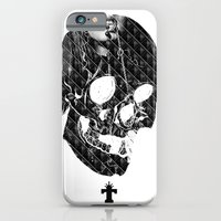 iPhone & iPod Case featuring TML SKULLIFASHION Women by TEMKA