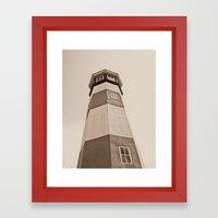 Watch Tower  Framed Art Print