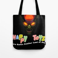 Happy Toyz (Alternate) Tote Bag