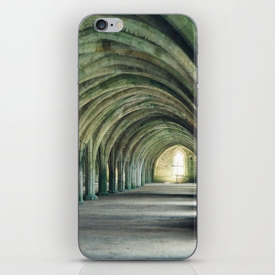 Fountains Abbey Crypt iPhone & iPod Skin