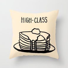High-Class Throw Pillow