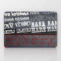 Hare Krishna iPad Case