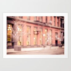 New York is a dream Art Print