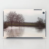 Winter Lake iPad Case