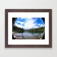Row to Adventure! Framed Art Print