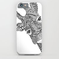 Zentangle Giraffe iPhone 6 Slim Case
