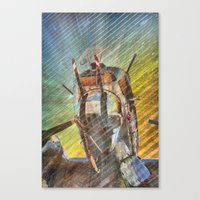 Armed Defender Canvas Print