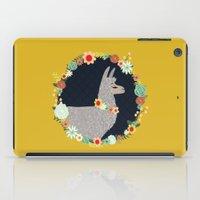 lovely llama iPad Case