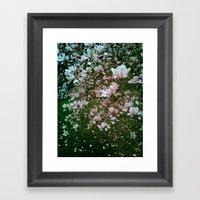 Monet Magnolia Framed Art Print