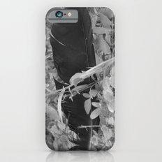 Black plume iPhone 6s Slim Case