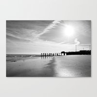 The End of the World Canvas Print