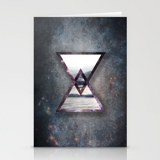 Irregular Galaxy Stationery Card