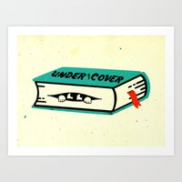 Under The Cover Art Print