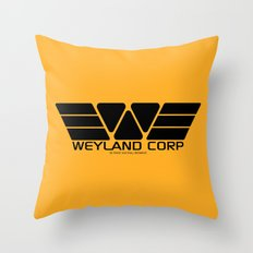 Weyland-Yutani Corp. Throw Pillow