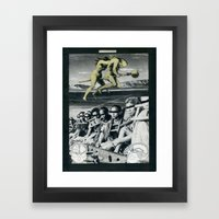 Witchery Mocks with Flight Framed Art Print