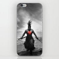 Courage Of Samurai iPhone & iPod Skin