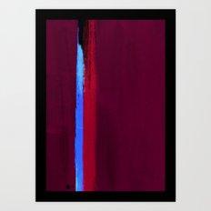 Teal Dream Abstract Art Print