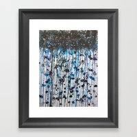 the weatherman lied Framed Art Print