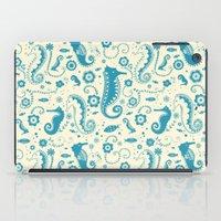 Seahorses iPad Case