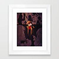 No Fool's Gambit Framed Art Print