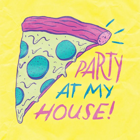 Party at My House Art Print