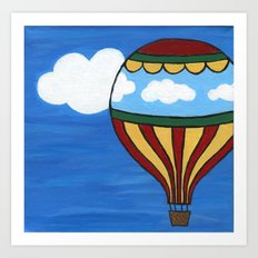 Cloudcatcher Art Print