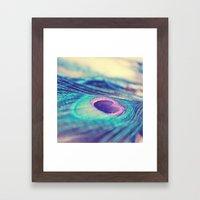 A Little Glimmer Framed Art Print