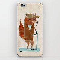 The Eccentric Mr Fox iPhone & iPod Skin