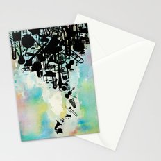 Color of Music Stationery Cards