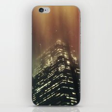 Misty Tower iPhone & iPod Skin