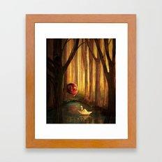 Forest Encounter Framed Art Print