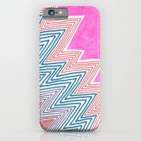 iPhone & iPod Case featuring ZagaZag by KATE KOSEK