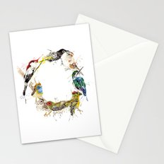 Endangered Wreath Stationery Cards