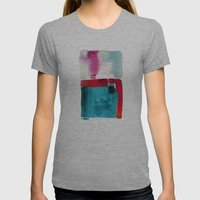 Her Abode Womens Fitted Tee Athletic Grey SMALL