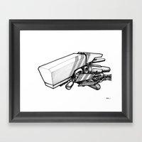 Machine Object III Framed Art Print