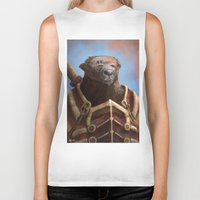Bear Warrior Biker Tank