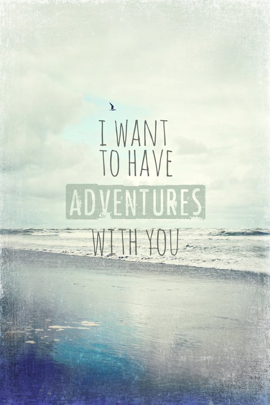 I want to have adventures with you Canvas Print